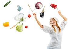 Melodi i matlagning Arkivbilder