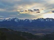 Melodia della montagna fotografia stock