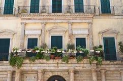 Melodia palace. Altamura. Puglia. Italy. Stock Photos