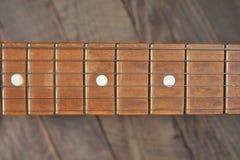Melodie van een oude uitstekende gitaar Royalty-vrije Stock Foto's