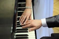 Melodie van familieharmonie Stock Afbeeldingen