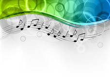 Melody background Royalty Free Stock Image