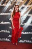 Melody Federer ankommer på den 19th årliga Movieguide utmärkelsestora festen Arkivbilder