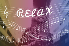 Melody Music Note Rhythm Graphic Concept Stock Photos