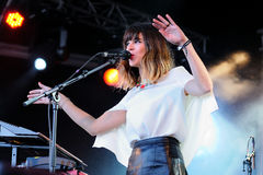 Melody's Echo Chamber band, performs at Heineken Primavera Sound 2013 Festival Stock Photo