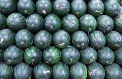 Meloen in de markt Stock Foto