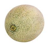 Meloen op wit Royalty-vrije Stock Afbeelding