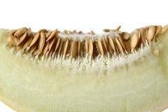 Meloen op witte achtergrond Royalty-vrije Stock Foto