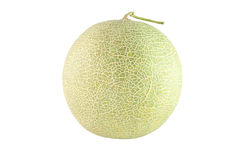 Meloen op witte achtergrond Royalty-vrije Stock Fotografie