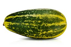 Meloen op witte achtergrond wordt ge?soleerd die stock foto's