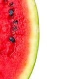 Meloenpatroon op witte mening als achtergrond van de bovenkant wordt geïsoleerd die Royalty-vrije Stock Fotografie