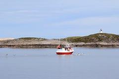Meloey fishingboat Royalty Free Stock Photos