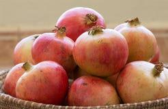 Melograni organici di recente selezionati Nizwa, Oman Fotografia Stock