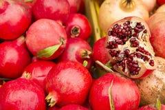 Melograno delizioso della frutta - granatum di Púnica immagine stock libera da diritti