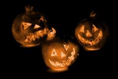 Melograno di Halloween Fotografie Stock
