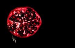 Melograno rosso della natura fotografia stock libera da diritti