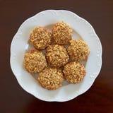 Melomakarona, Greek Christmas  cookies Stock Photography