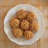 Melomakarona, greek Christmas cookies Stock Images