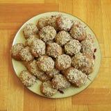 Melomakarona, greek Christmas cookies Stock Photo