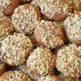 melomakarona, traditional greek cookies Stock Photo