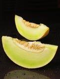 melonów plasterki dwa Obrazy Royalty Free