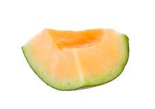 Melonów plasterki odizolowywający Zdjęcie Royalty Free