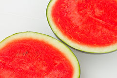 Melon. A Watermelon on white background royalty free stock photography