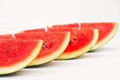 Melon. The Watermelon on white background royalty free stock photo