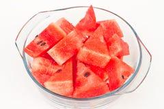 Melon. The Watermelon on white background stock photos