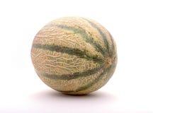 Melon. A sweet melon on a white background Stock Photo