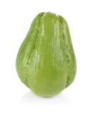 Melon amer thaïlandais sur le fond blanc Photos stock