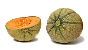 Melon And Section Royalty Free Stock Photography