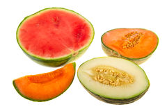 Melon assortment Royalty Free Stock Photography
