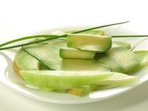 Melon and avocado Stock Photo