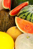 Melon Background Royalty Free Stock Photos