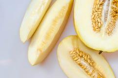 Melon cantaloupe Stock Image