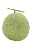 Melon, Cantaloupe on White Background Royalty Free Stock Images