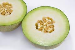 Melon. Close up Japans melon on white background Stock Image