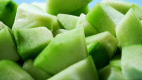 Melon, cool taste stock images