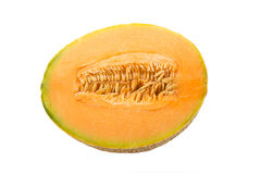 Melon cut Royalty Free Stock Photography