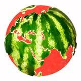 Melon d'eau Photos stock