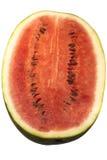 Melon d'eau - divisé en deux Images libres de droits