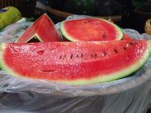 Melon d'eau rouge Photographie stock libre de droits