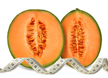 Melon de cantaloup Photos stock