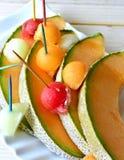 Melon de cantaloup Photographie stock