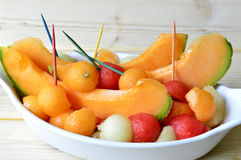 Melon de cantaloup Image libre de droits