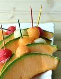 Melon de cantaloup Photo libre de droits