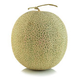 Melon de cantaloup d'isolement Images stock