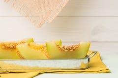 Melon de miellée Photographie stock
