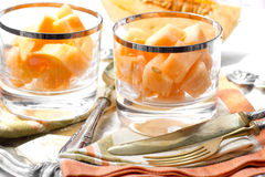 Melon dessert Stock Images